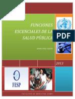 Análisis de Las Funciones Esenciales de La Salud Pública
