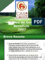 Galilea Golf final