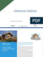 Architectures Solaires - Maison
