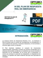 Plan de Emergencia y Contingencia (I y II Parte)