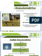 ANALISIS GRANOLUMETRICO
