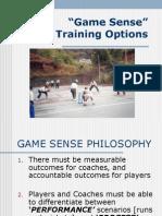Game Sense Training With Pics