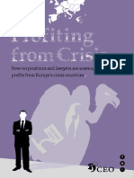 Profiting From Crisis