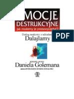 Emocje Destrukcyjne - Dialog Naukowy z Udziałem Dalajlamy