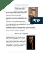 Historia de La Zampoña