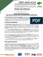 33.- Digno Subcampeonato en La Liga Provincial Preinfantil