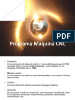 Programa Maquina CNC
