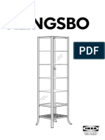 Klingsbo Glass Door Cabinet AA 306187 4 Pub