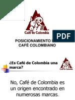 Posicionamiento Cafe Colombia