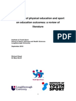 Nevill - Literature Review Impact of PE and Sport on Education Outcomes Oct 2010