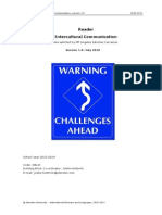 Reader Intercultural Communication 2013-2014