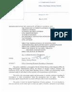 DOJ Memo on New Policy for Recording FBI Interrogations