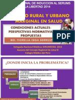 Problemática Actual Del SERUMS TRUJILLO