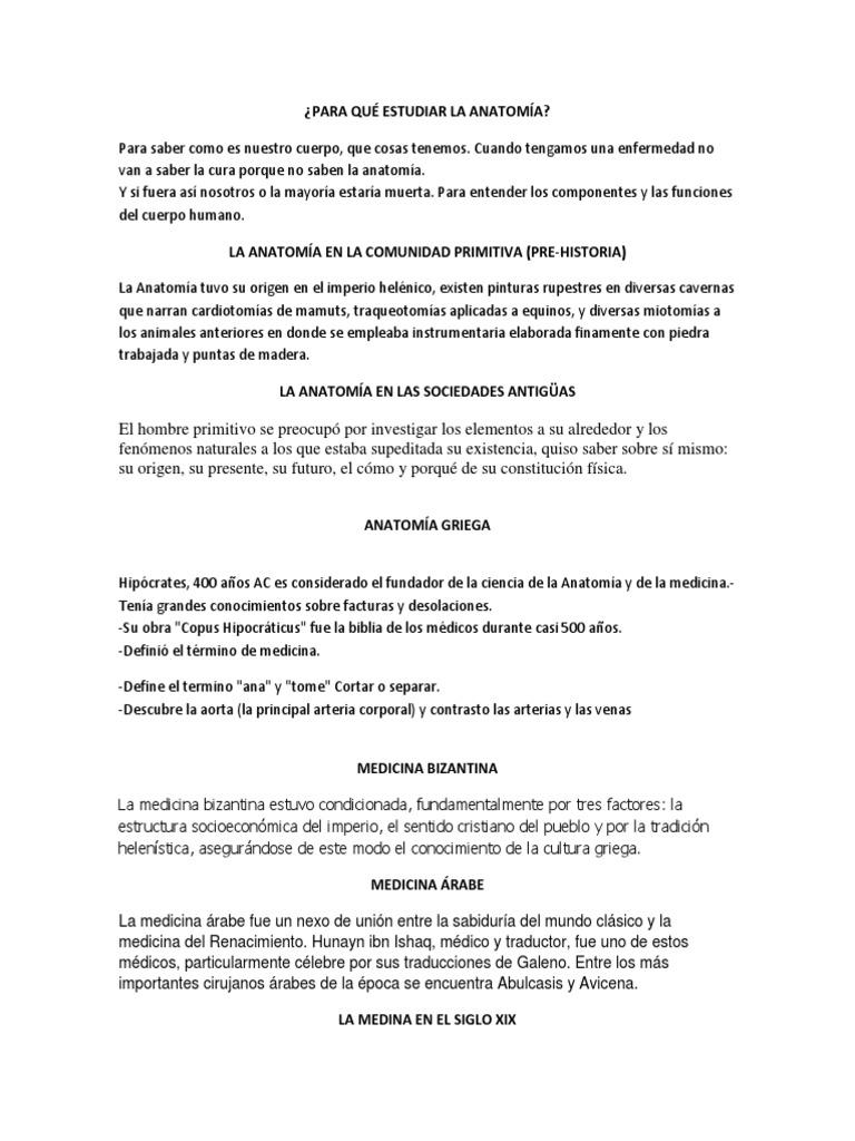 Excelente Qué Estudias En La Anatomía Molde - Anatomía de Las ...