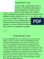 Basics of Propositional Logic