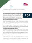 Communiqué TER RFF - SNCF 21 Mai 2014