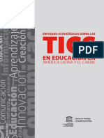 UNESCO Enfoques Estrategicos Sobre Las TIC