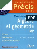 49464838 Precis Algebre Et Geometrie MP