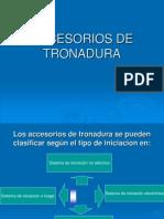 Presentacion de Accesorios de Tronadura