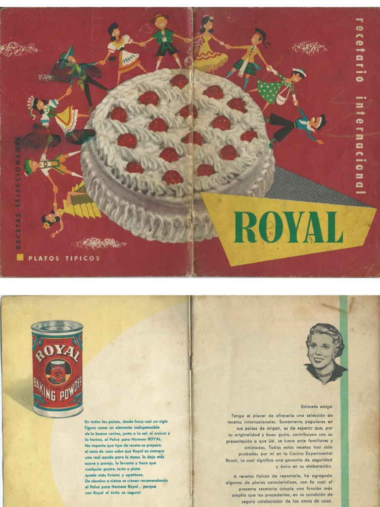 Royal recetario for Cocina internacional pdf