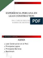 ExperienciaPeruanaCAPECOLeanConstructionCarlosDelgado