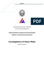 Report Shearwall