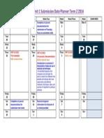 unit 1 2014 week by week term2 studio art sat date planner