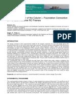 precast foundations seizmic