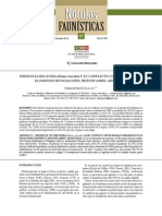 PRESENCIA DEL PUMA (Puma concolor) Y SU CONFLICTO CON EL HOMBRE EN EL PARTIDO DE PATAGONES, BUENOS AIRES, ARGENTINA