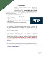Acta de Asamblea 2014 Inaes Lizet Salomon