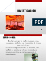 InvestigaciION--