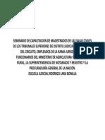 Derecho Agrario. Manuel Ramos