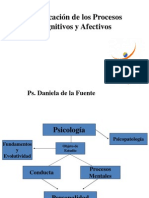 Clasificacion procesos cognitivos