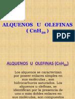 ALQUENOS U OLEFINAS ( CnH2n ).pptx