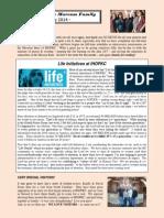 Marcum Family Newsletter - May 2014