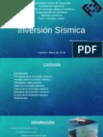 Inversion Sismica