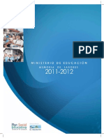 5. MINED Memoria de Labores 2012