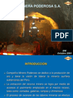 Minera Poderosa GEOPERVOL