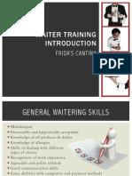 Waiter Presentation PDF