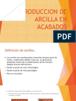 Diapositivas Tecnologia - Exposicion Arcilla