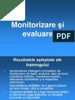 Monitorizare Şi Evaluare[1]