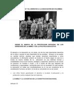 La Niñez y El Derecho a La Educacion en Colombia (2)