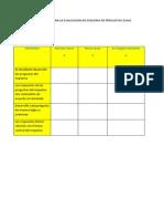 herramientas de evaluacion
