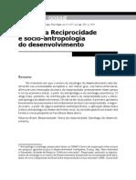 Teoria Da Reciprocidade E ANTROPOLOGIA DO DESENVOLVIMENTO - Sabourin Sociologias
