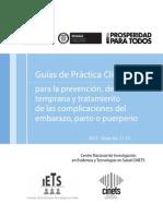 Guías de práctica clínica -  Embarazo -Guías de práctica clínica