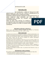 Analisis de La Pelicula Diarios de La Calle INSTITUCIONES