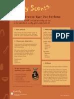 Ancient Perfumes Worksheet