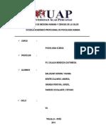 Exa Psico - 1 Original - Modelo de Examen Psicopatologico