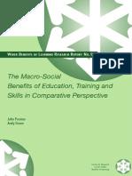 Macro Social Education