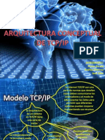 1- Arquitectura Conceptual de TCP-IP